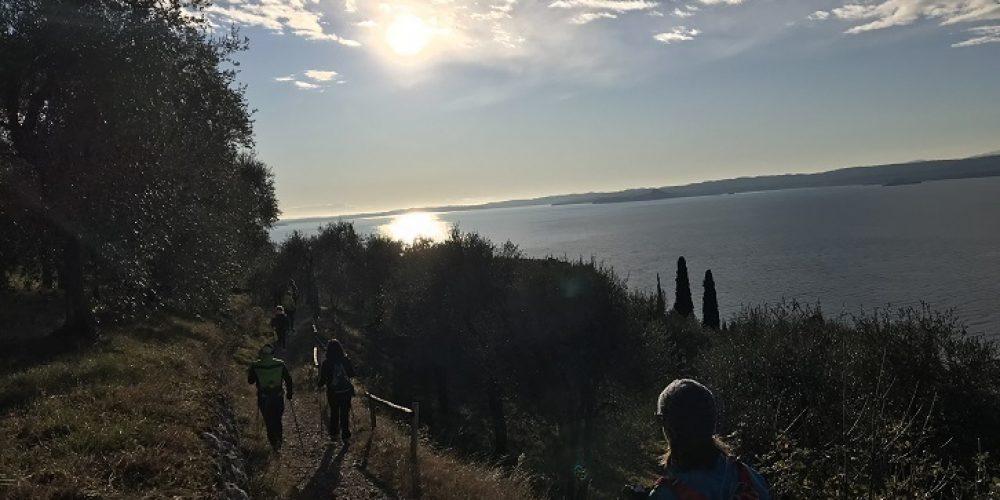 "16 DICEMBRE 2018 -  "" 15 KM o 23 KM o 30 KM da GARDA a MALCESINE """