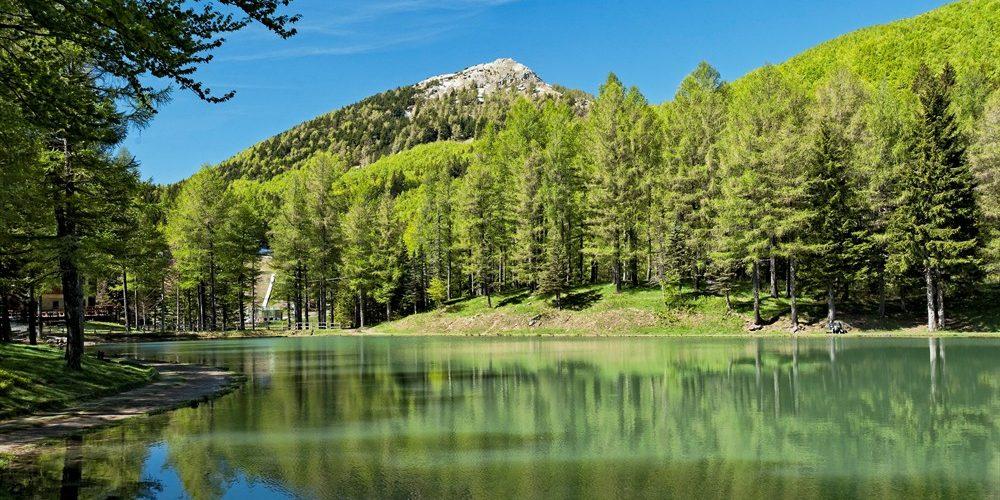"""08 Settembre 2019 """" Camminiamo dalle Polle di Riolunato al Lago della Ninfa """"."""