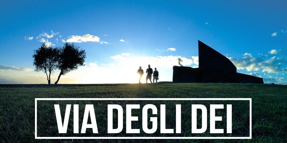 """7-8 APRILE 2018   """" Percorreremo la Via degli DEI = prima tappa """""""